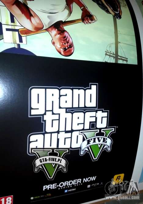 Release of Grand Theft Auto 5 in the spring of 2013