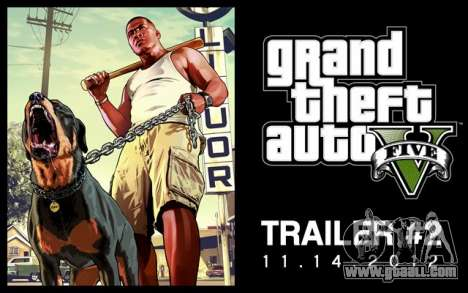 a New trailer of GTA V 14.11.2012