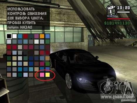 Carcols.DAT. change color cars.
