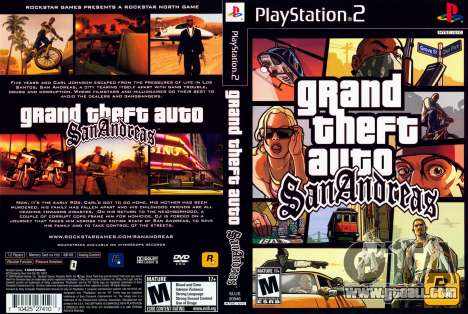 26.10.2013 - 26.10.2013 was 9 years since the publication of GTA San Andreas Play Station 2