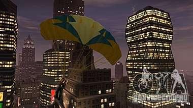 Skydiving in GTA 4 The Ballad Of Gay Tony