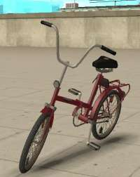 GTA San Andreas bicycles with automatic installation