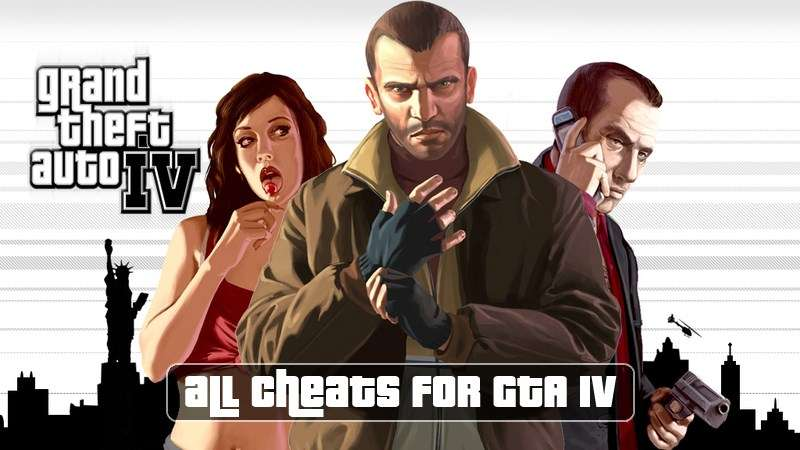 Cheats for GTA 4