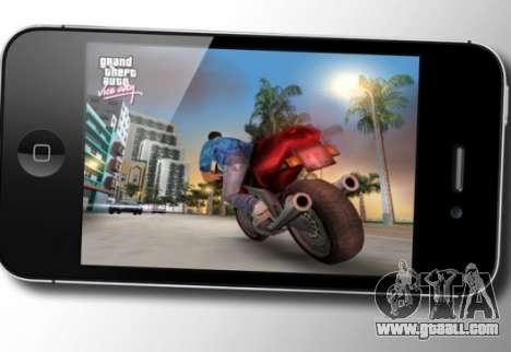 Grand Theft Auto: Vice City on iOS