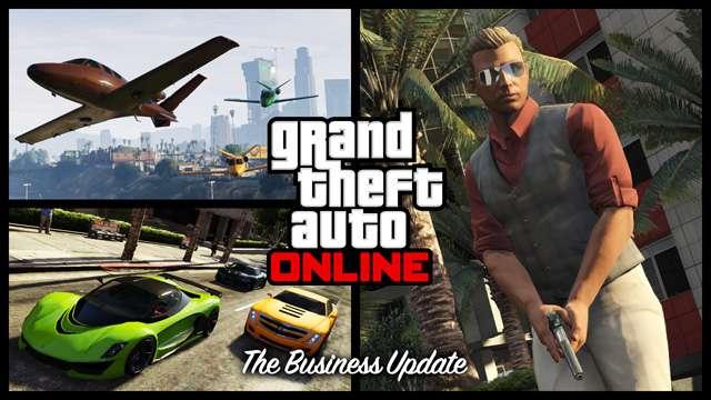 Eröffnet den Zugang zu den kostenlosen Business-Updates GTA Online
