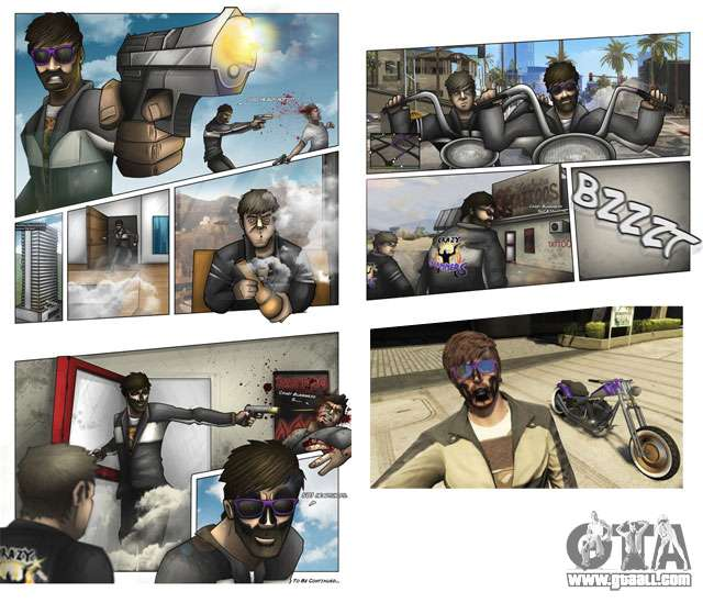 Update the fan art GTA 5