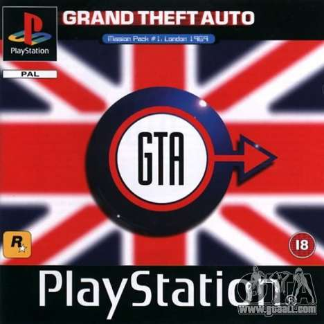 the time Machine: the release of GTA London 1969 Playstation
