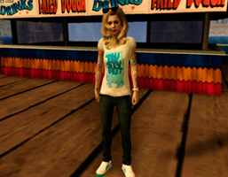 Catrina Skin for GTA San Andreas