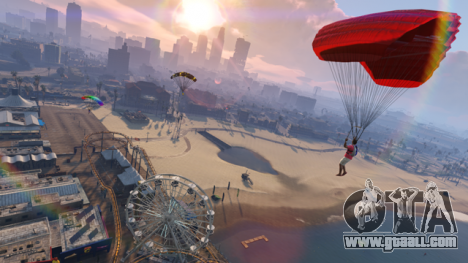 GTA Online parachute jumps