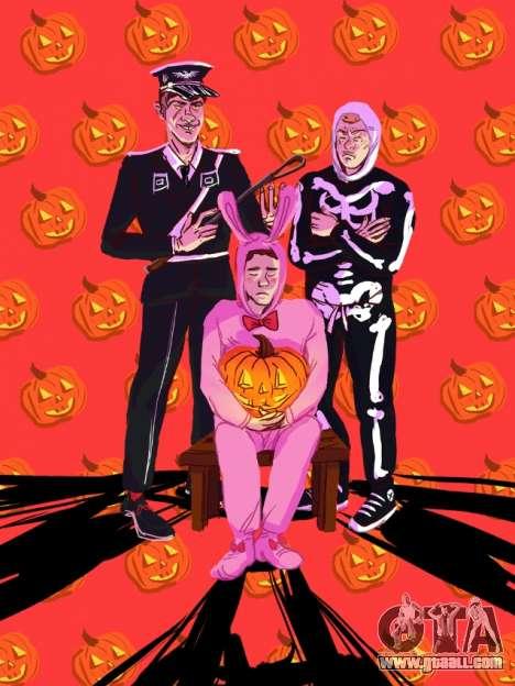 Fan-art GTA: Halloween