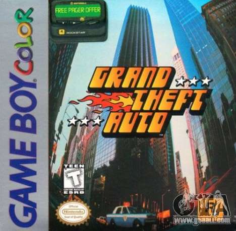GTA 1 GBC in North America: features of release
