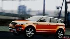 the Range Rover Evoque 2014 for GTA San Andreas