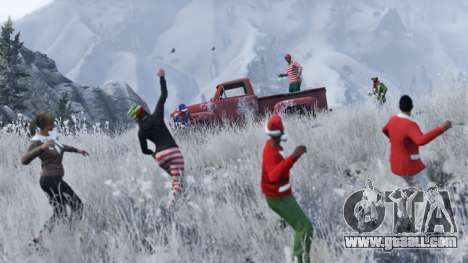 Christmas surprises in GTA Online