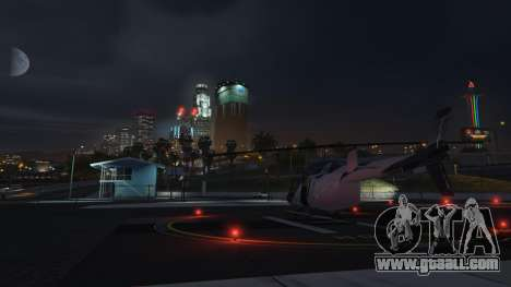 Another helicopter spawn in GTA Online