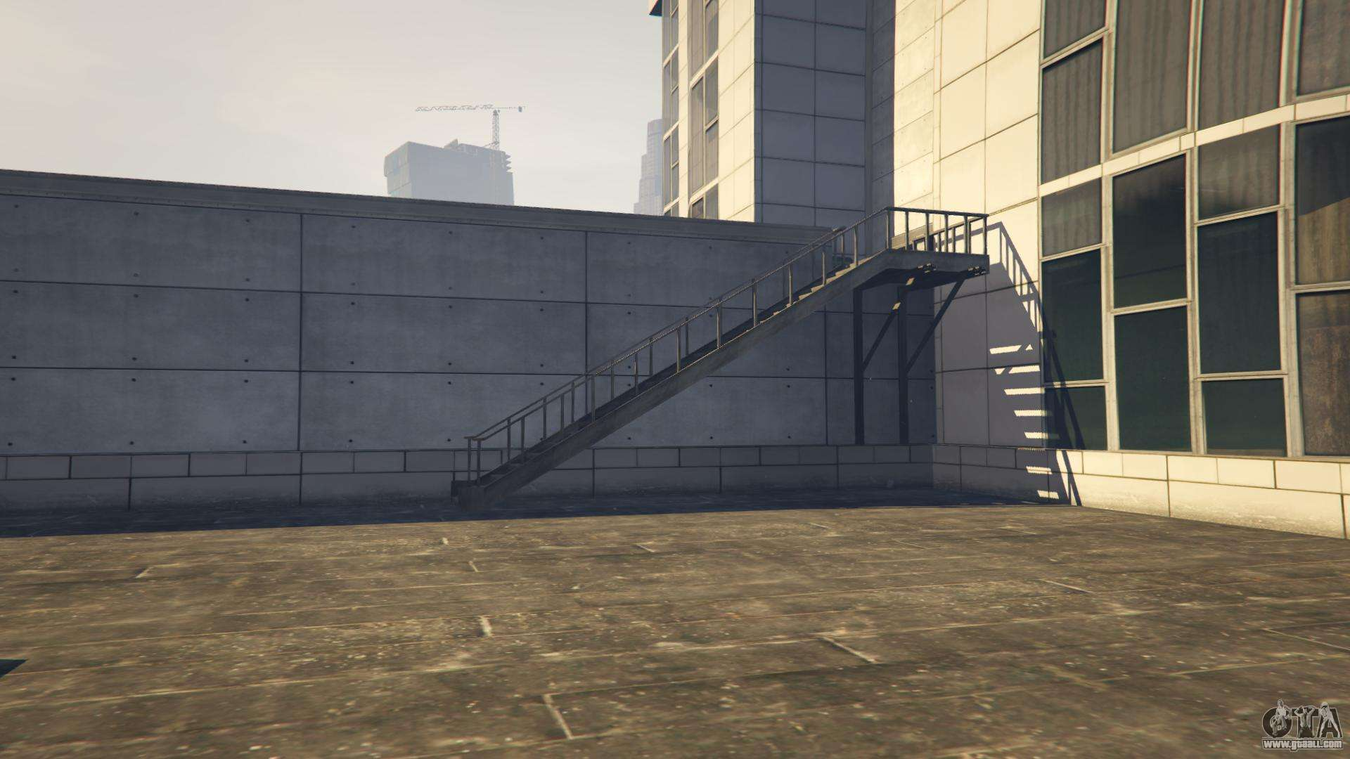 Gta Online The Way To The Helicopter On The Hospital Roof Helicopter  Locations In Gta 5