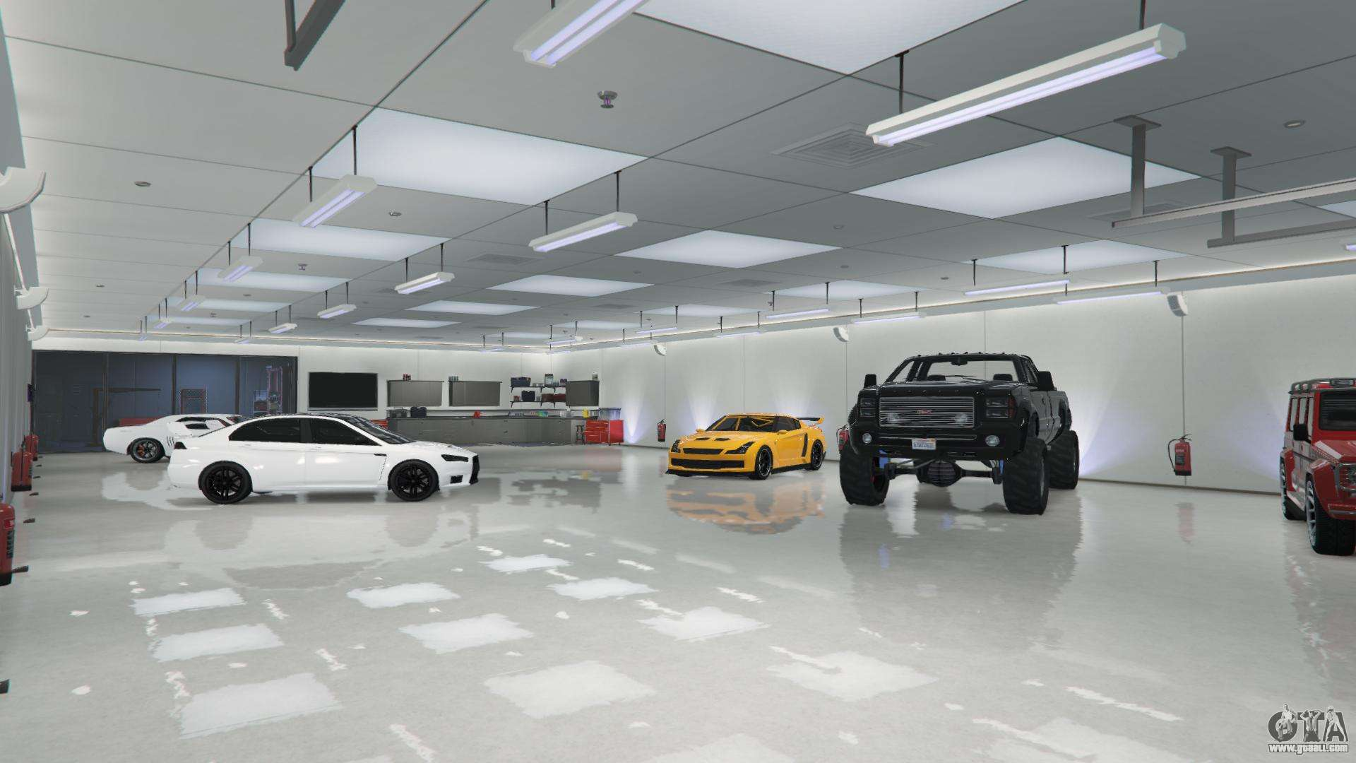 Buy A Garage In Gta 5 Online