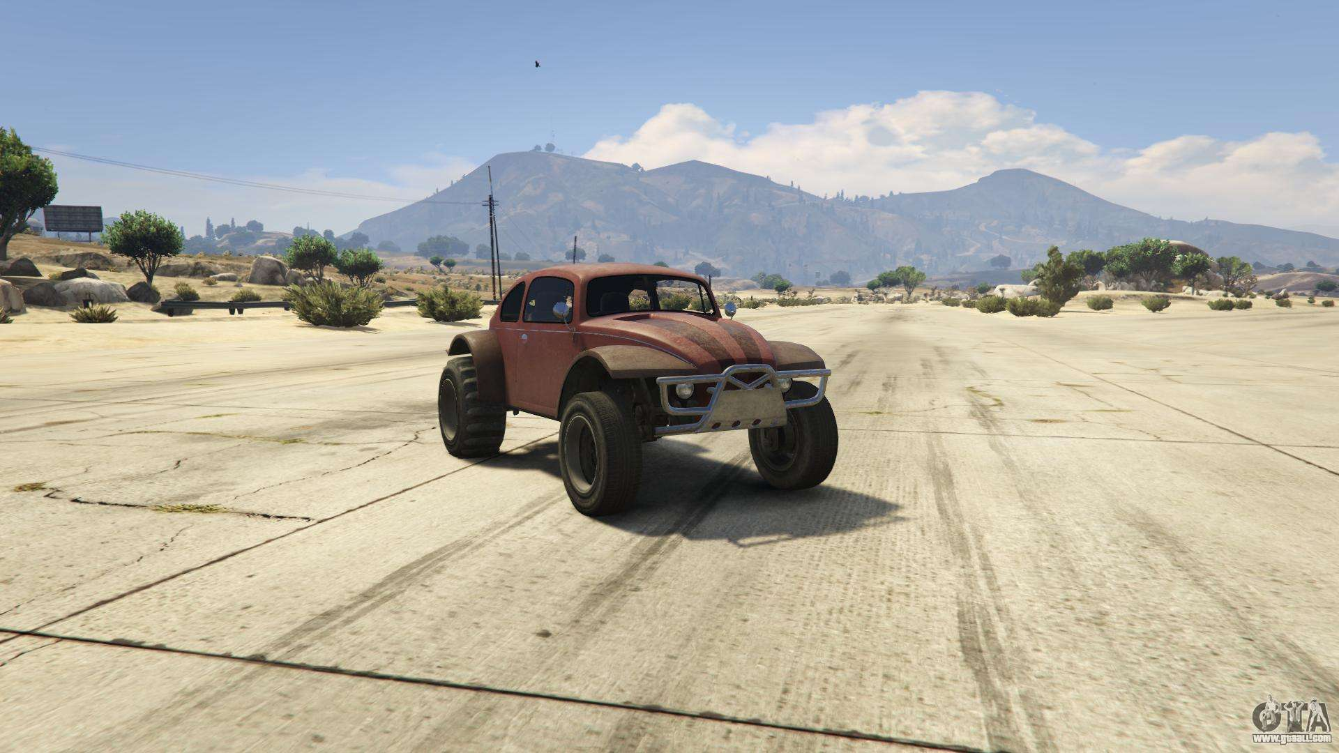 GTA 5 BF Injection - front view