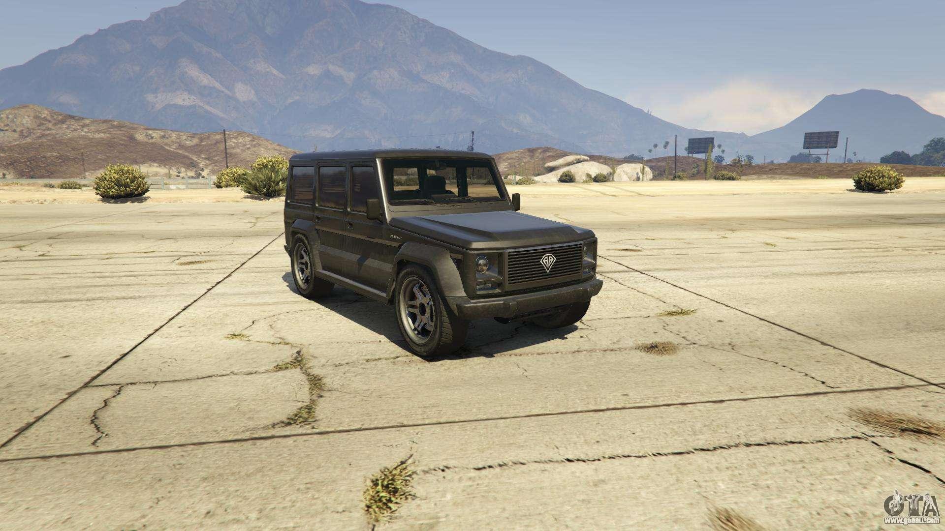 Benefactor Dubsta GTA 5 - front view