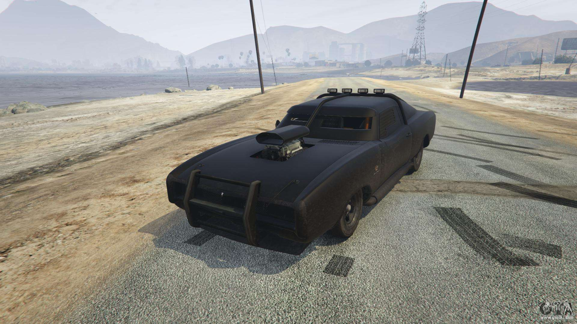 Duke O'Death from GTA 5 - front view