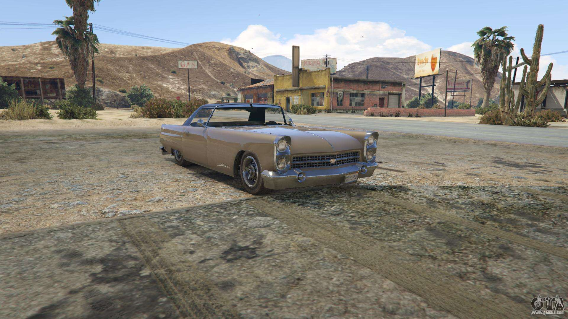 Vapid Peyote GTA 5 - front view