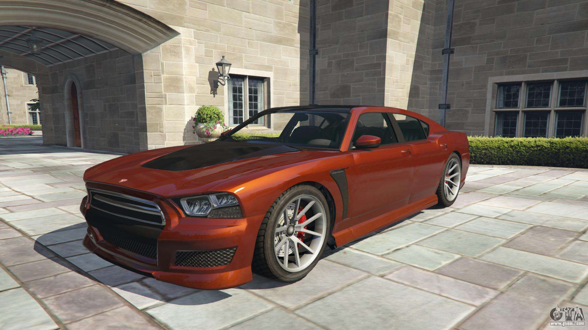 Bravado Buffalo S GTA 5 - front view
