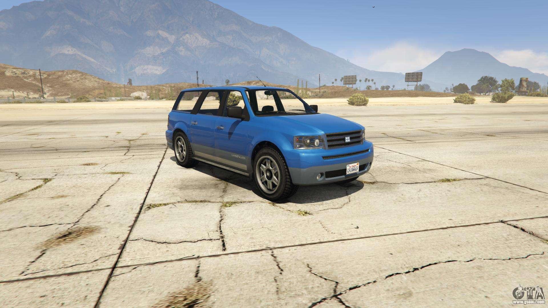 GTA 5 Dundreary Landstalker - front view