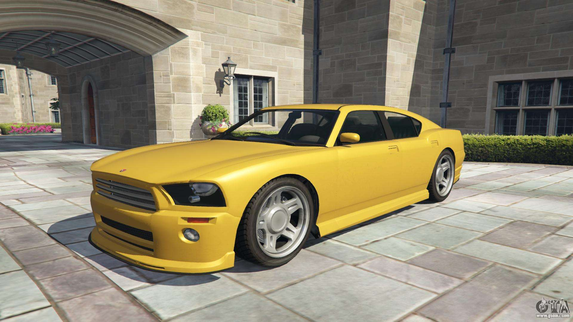 Bravado Buffalo GTA 5 - front view