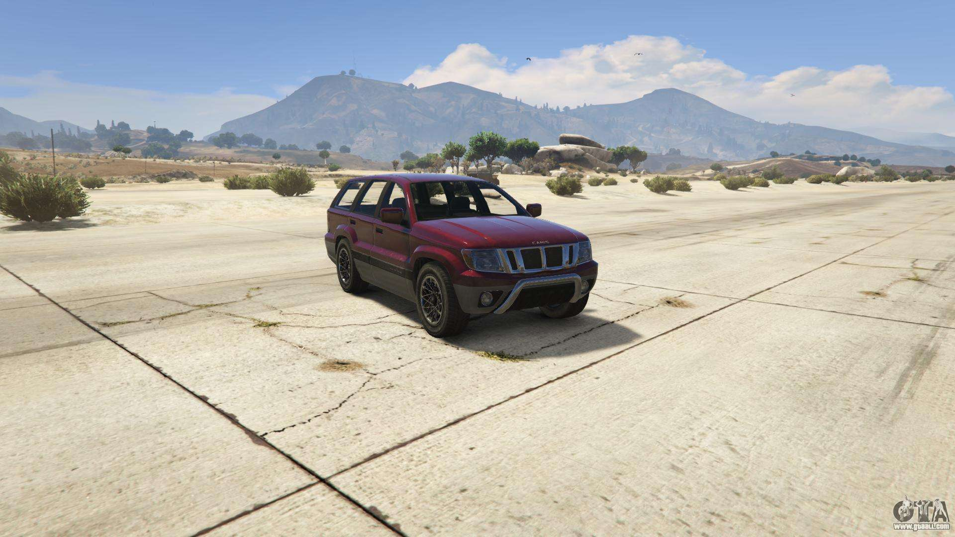 GTA 5 Canis Seminole - front view