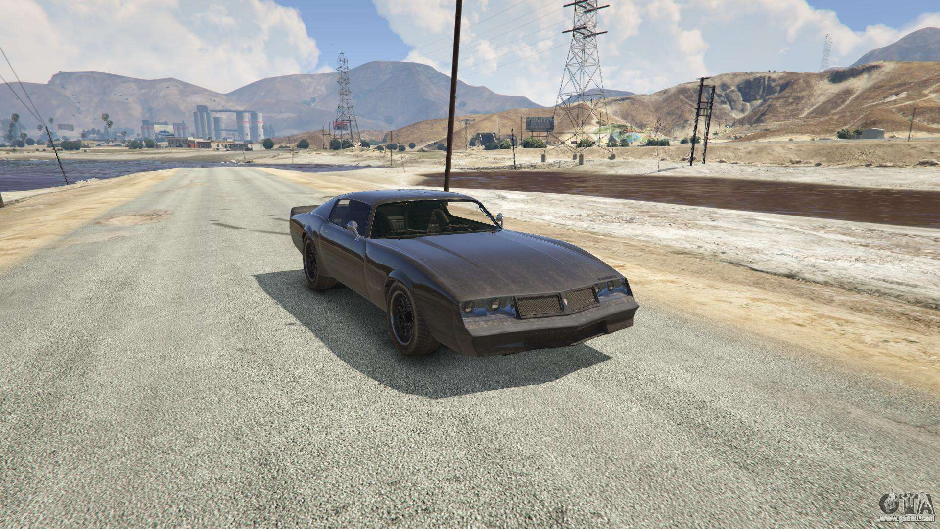 Phoenix from GTA 5 - front view