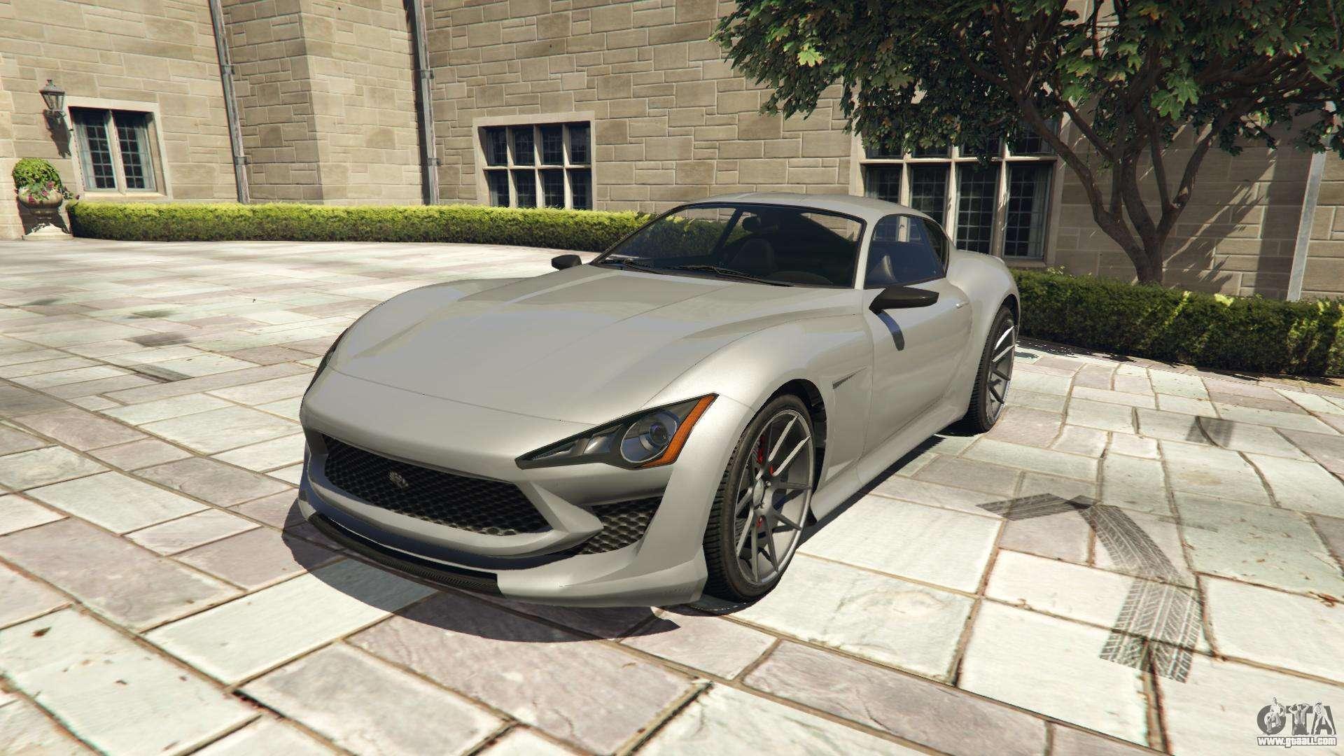 Lampadati Furore GT from GTA 5 - front view