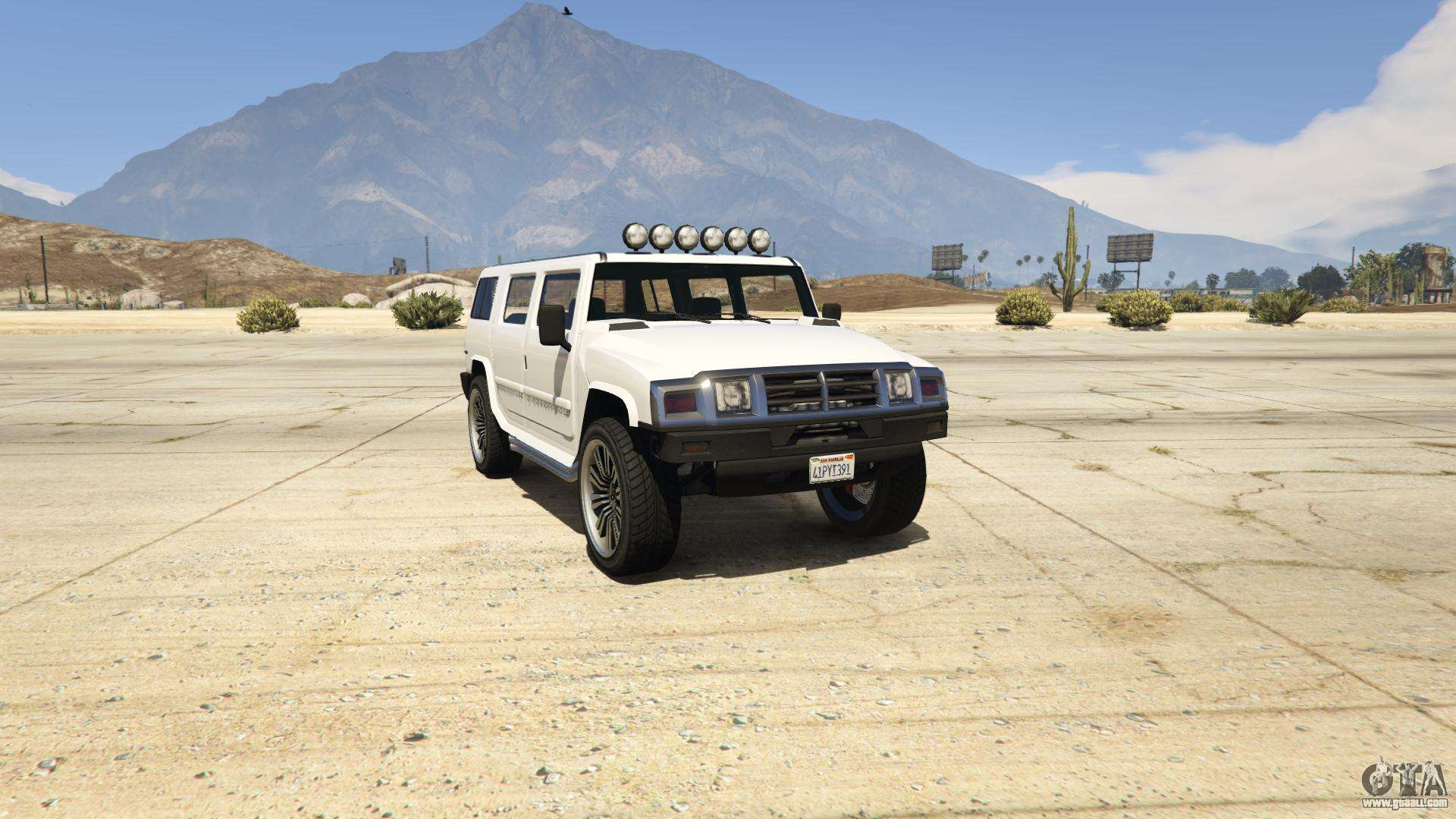 GTA 5 Mammoth Patriot - front view