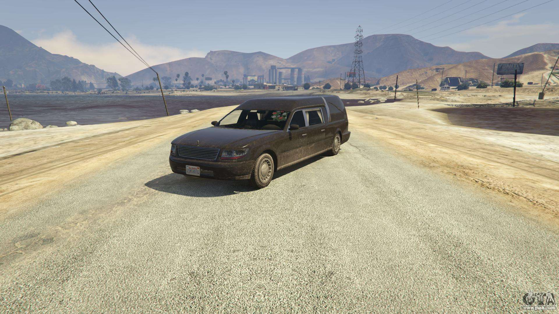 Chariot Romero from GTA 5 - front view