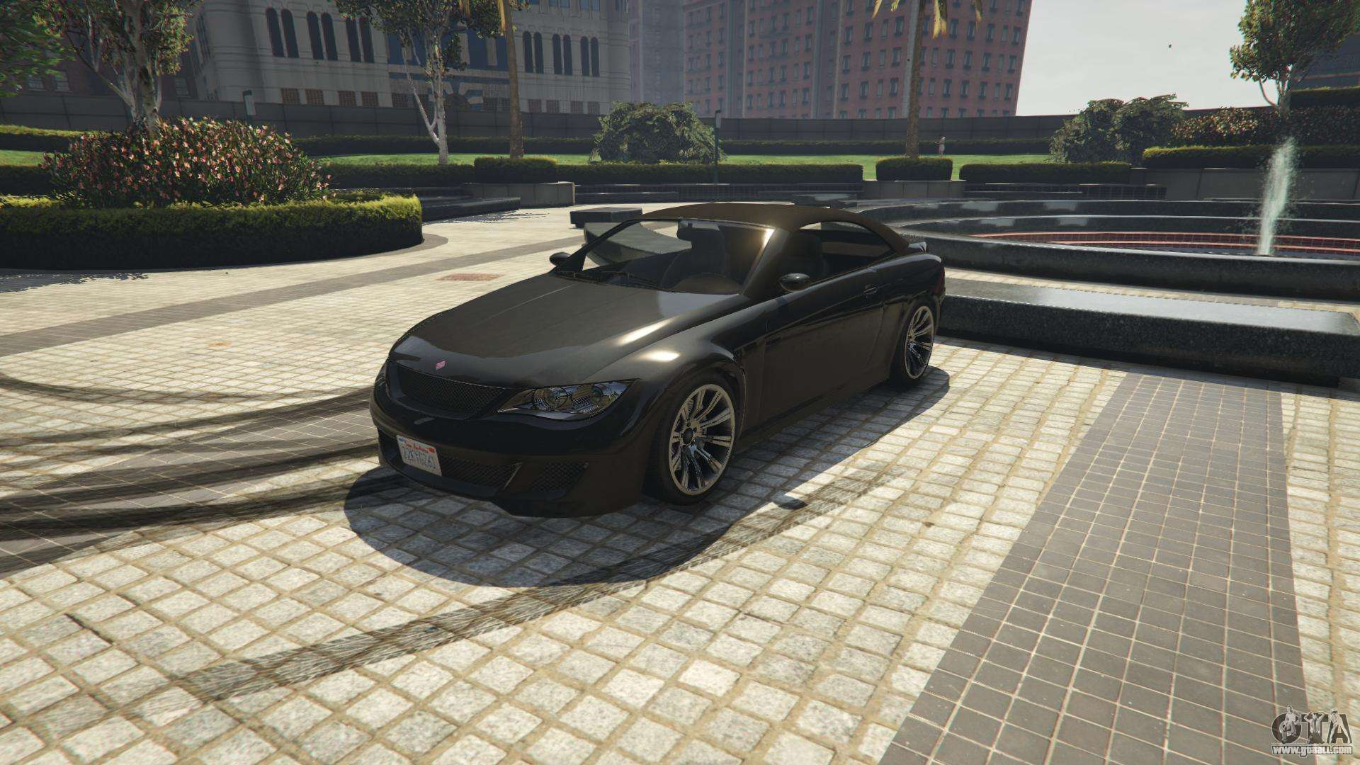 Ubermacht Zion Cabrio of GTA 5 - front view