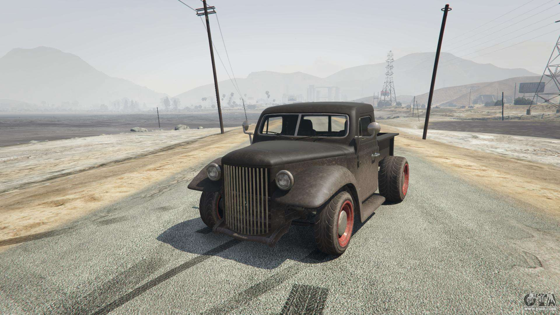 Rat-Truck from GTA 5 - front view