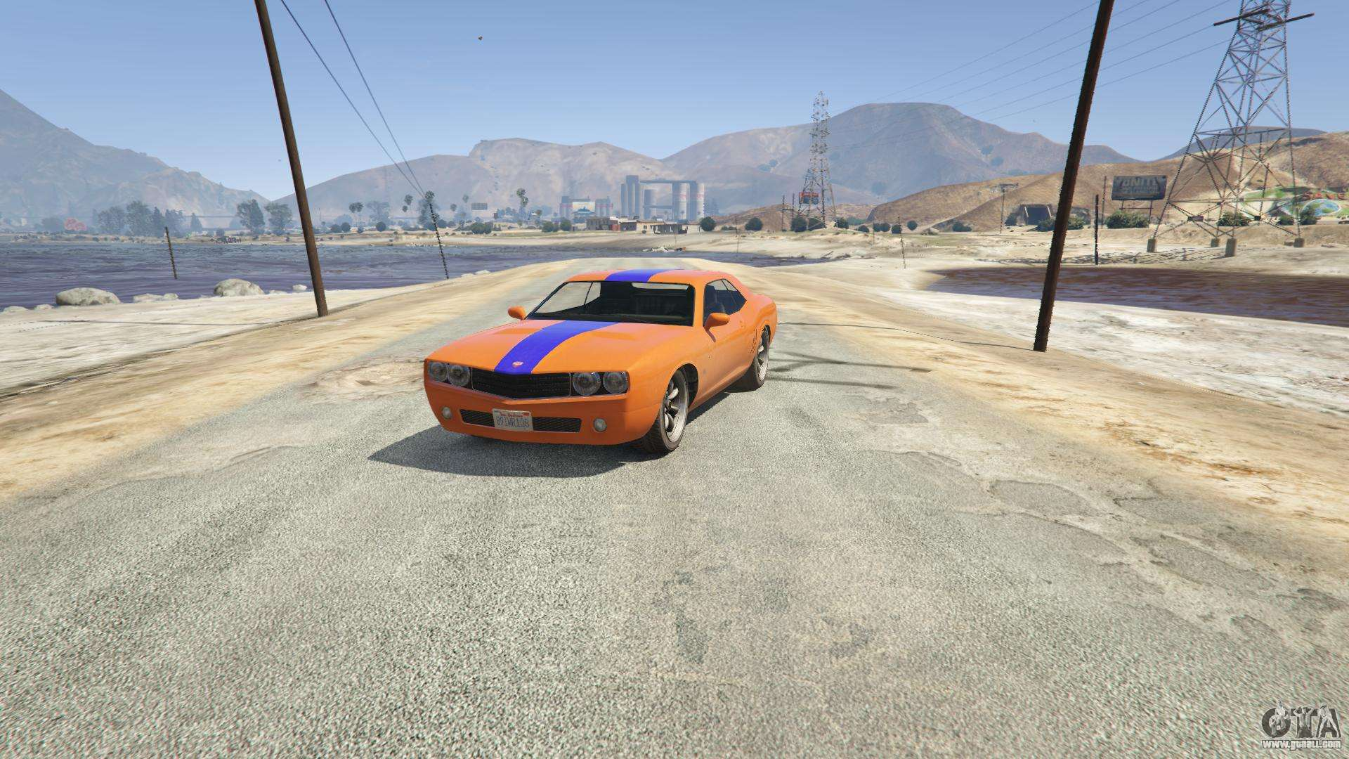 Gauntlet GTA 5 - front view