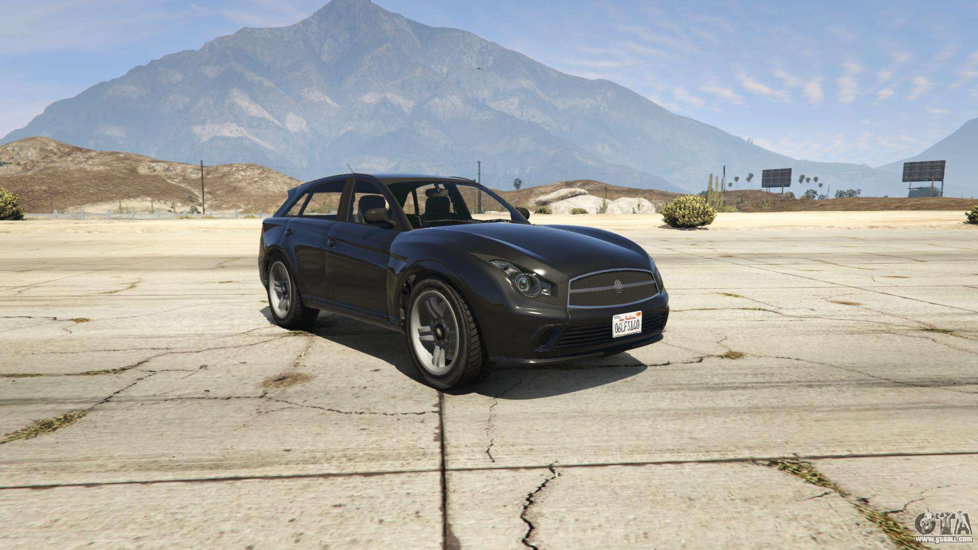 Fathom FQ 2 of GTA 5 - front view