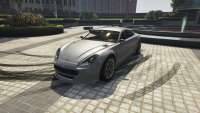Dewbauchee Exemplar of GTA 5 - front view