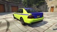 Karin Sultan GTA 5 - rear view