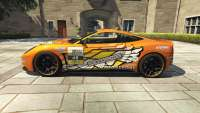 Dewbauchee Massacro Racecar from GTA 5 - side view