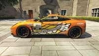 Dewbauchee Massacro Racecar from GTA 5 - side view