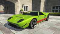 Vapid Bullet from GTA 5 - front view