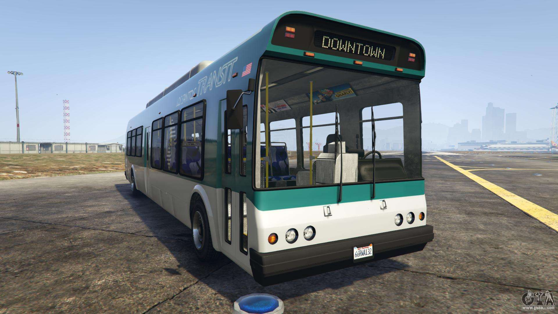 GTA 5 Brute Bus - front view