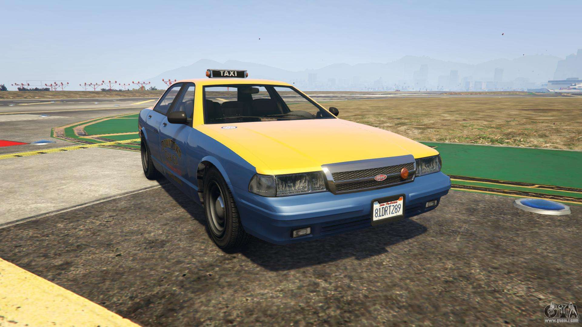GTA 5 Vapid Taxi - front view