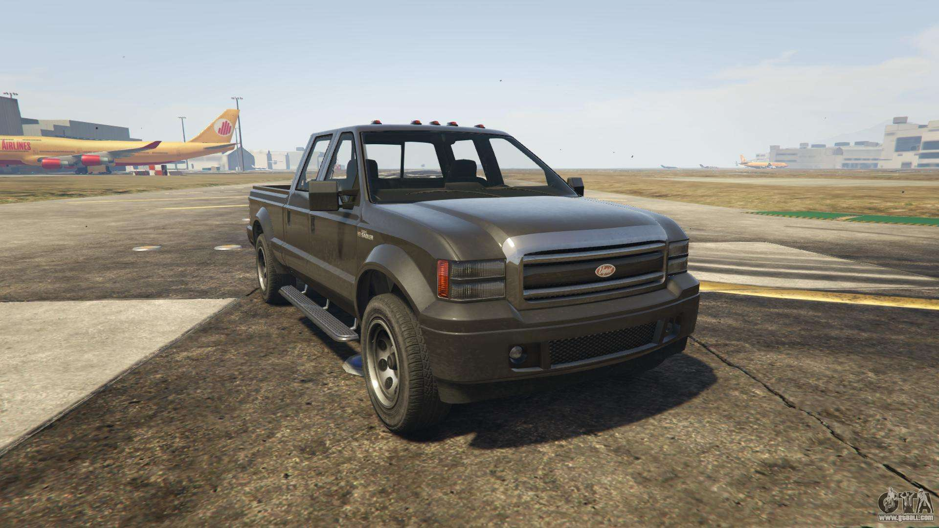GTA 5 Vapid Sadler - front view