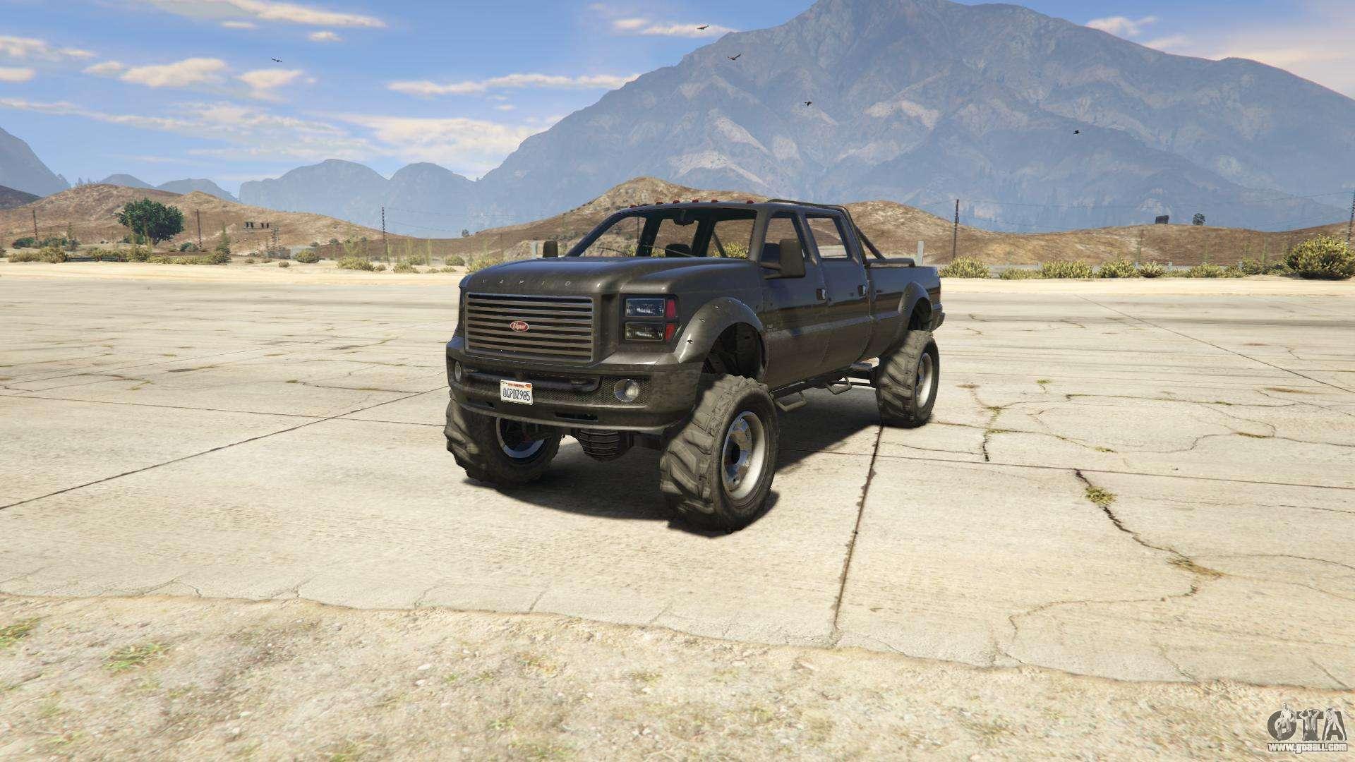 GTA 5 Vapid Sandking XL - front view