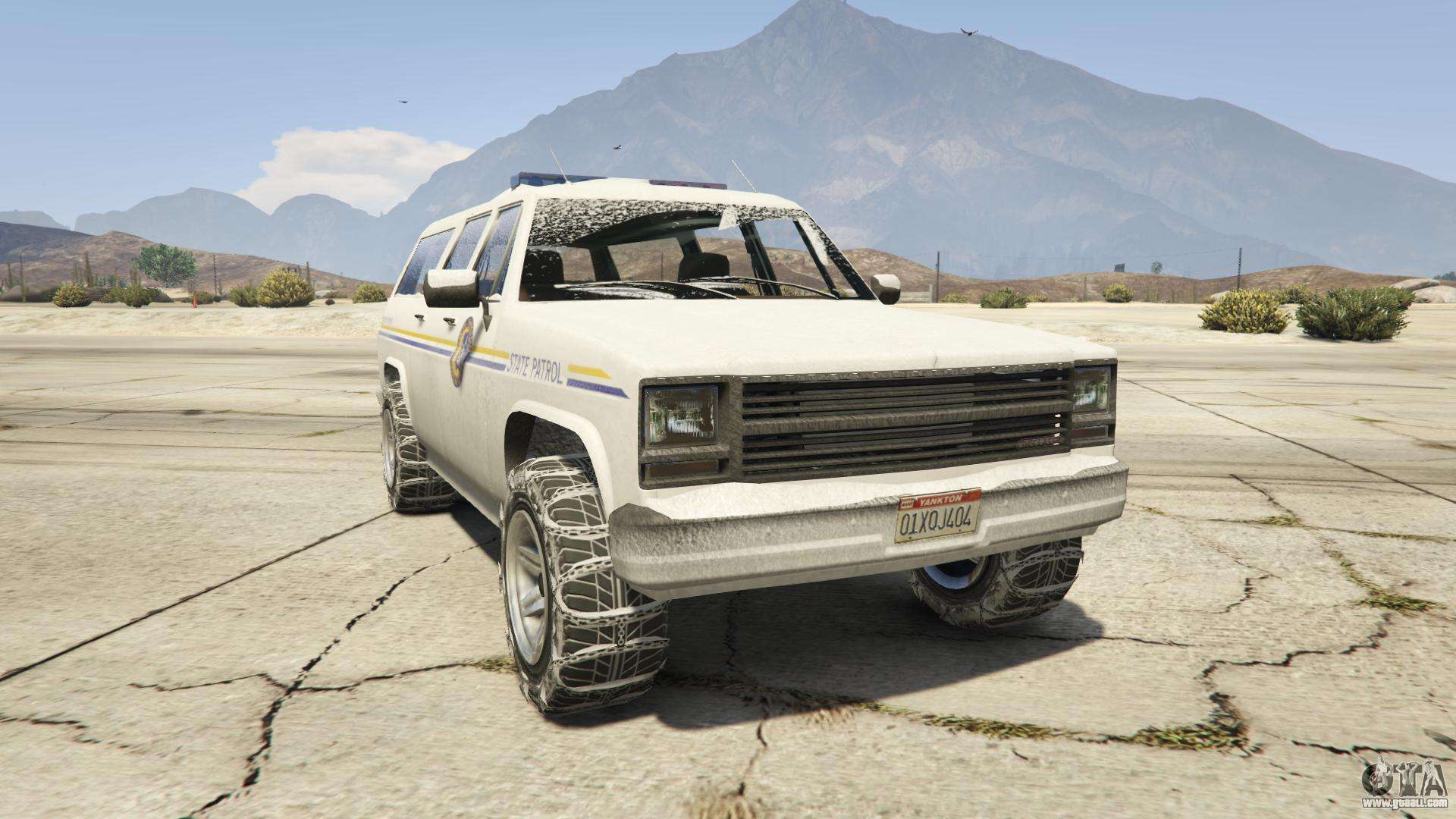 GTA 5 Declasse Police Rancher - front view