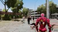 Iron Man's suit in gameplay