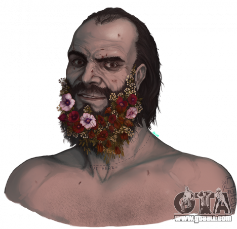 Flower Beard Trevor