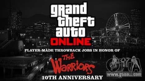 The Warriors Custom Jobs