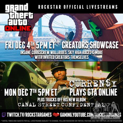 GTA Online Streams